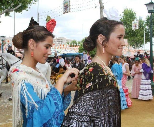 las flamencas de verdad