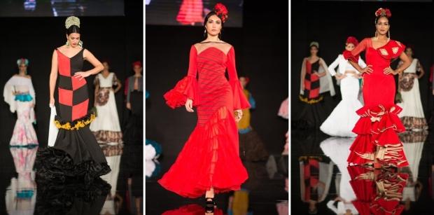 Fotografía de Aníbal Gonnzález cedida por We Love Flamenco Diseños de: Juan Carlos Pérez, Olga González y Purificación Abad